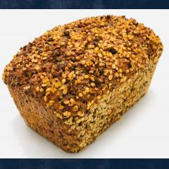 Toasted Hemp Seed Bread