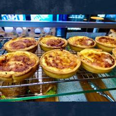 Three Cheese Quiches